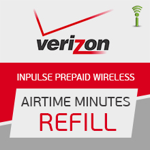 Verizon Prepaid Wireless Airtime Refill Pins